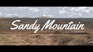 BeamNG.Drive - Sandy Mountain Trailer
