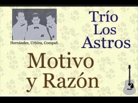 Los Tri-O - Motivo Y Razon