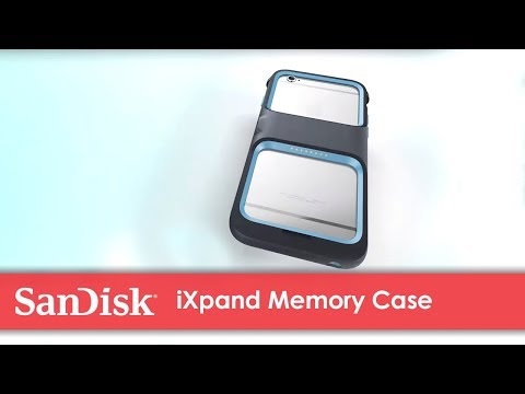 Meet the new SanDisk® iXpand Memory Case