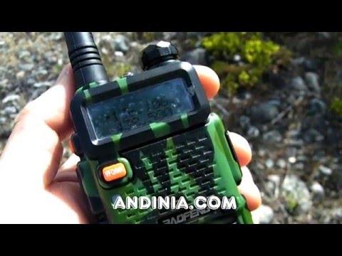 Cómo grabar una MEMORIA - Handy UHF/VHF - Baofeng UV-5R - Howto Record a Memory