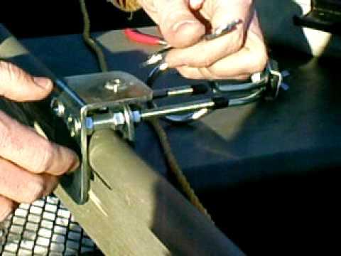 Fishing Rod Holder Installation instructions