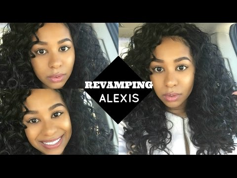 Revamping Your CURLY Wigs: Sensationnel Alexis