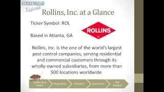 Rollins Inc. - Fall 2014 Presentation