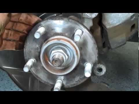 06 HHR Wheel Bearing Replacement