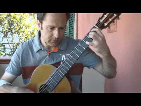 Феликс Мендельсон - Op.12-Canzonetta (Tarrega)