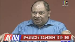 Informan sobre intervenciones en aeropuertos en Departamento del Beni