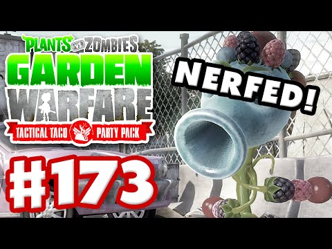 Plants vs. Zombies: Garden Warfare - Gameplay Walkthrough Part 173 - Berry Shooter Nerfed!