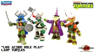 Video Review of the Nickelodeon Teenage Mutant Ninja Turtles: Live Action Role Play