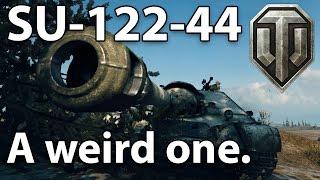 ^^| SU-122-44 A weird one. (World of Tanks Gameplay.)