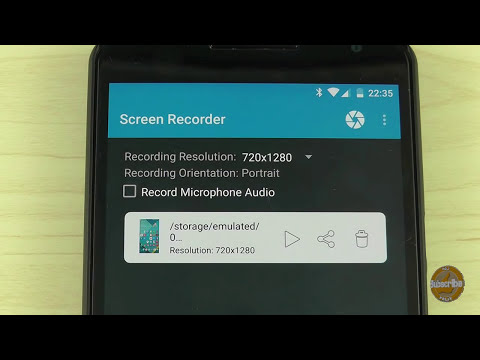 How to Directly Record Your Android Lollipop Screen Without Root and For Free!