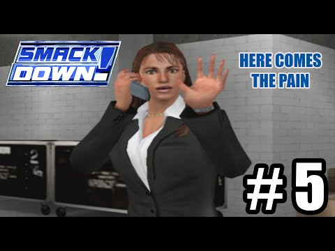 Stephanie McMahon-Husky? - WWE SmackDown! Here Comes The Pain Season Mode Ep. 5 thumbnail