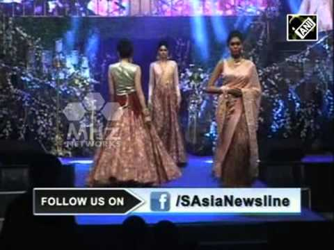 Indian designer presents bridal wear to die for (02 May,2016)