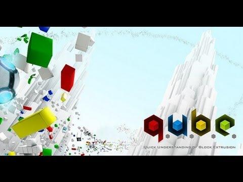 Q.U.B.E. - игра-головоломка от первого лица, в которой игроку требуется вза