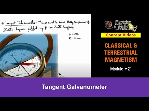 tangent galvanometer project