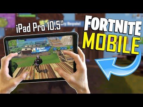 FAST MOBILE BUILDER on iOS / 350+ Wins / Fortnite Mobile + Tips & Tricks!