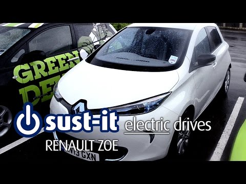 UK spec Renault Zoe electric car review and road test