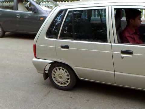 KP'S MARUTI 800 BOUROUT STUNT Video