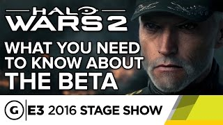 Halo Wars 2: What You Need to Know About the Beta - E3 2016 Stage Show