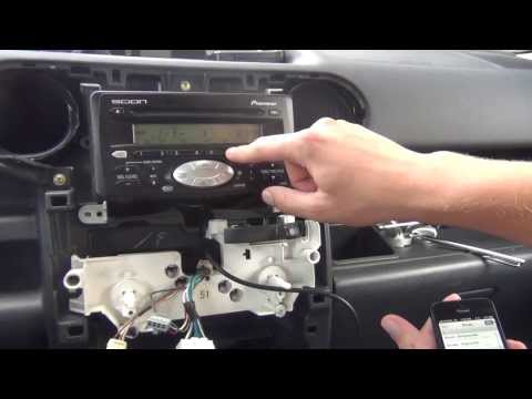 GTA Car Kits - Scion xB 2004-2007 iPod. iPhone and AUX adapter installation