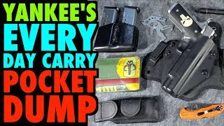 Yankee's EVERY DAY CARRY Pocket Dump