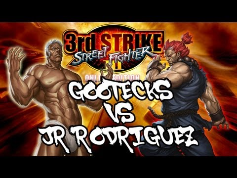 BARFIGHTS : Gootecks ( Urien ) VS JR RODRIGUEZ ( Akuma ) SFIII 3rd Strike Online Edition FT10 Set