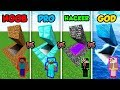 Minecraft NOOB vs. PRO vs. HACKER vs. GOD: SECRET BASE in Minecraft MAP! (Animation)