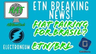 Electroneum BREAKING NEWS!! FIAT PAIRING FOR BRASIL ANNOUNCED!! THIS IS HUGE!
