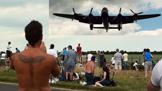 "🇬🇧 Very Low Avro Lancaster Bomber. "" Goosebumps."""