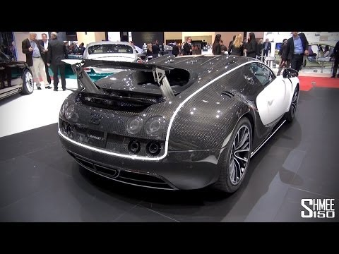 FIRST LOOK: Mansory Vivere Bugatti Veyron at Geneva 2014