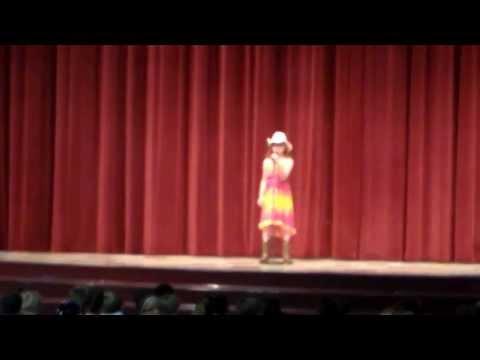 Julianne singing Blown Away- Winchester Trail Talent Show 2013