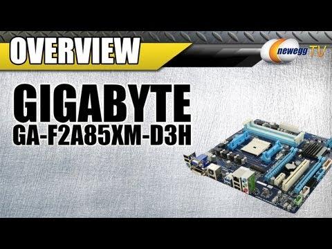 Newegg TV: GIGABYTE GA-F2A85XM-D3H Motherboard Overview