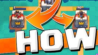 NO HEALTH :: Clash Royale :: WILL THE TOWERS SURVIVE!?