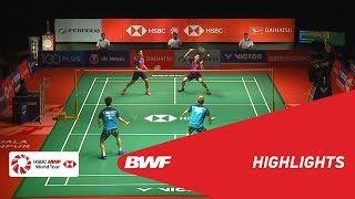 PERODUA Malaysia Masters 2019   MD - F - HIGHLIGHTS   BWF 2019