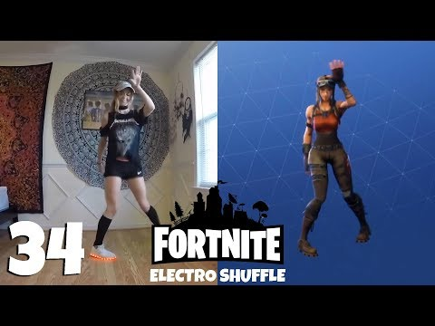 Fortnite: ALL 34 emotes and dances + Their real life original references
