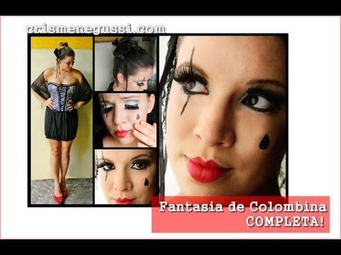 Maquiagem de Colombina
