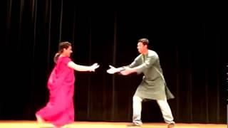 Dhakai Saree Dance Performance- University of Arkansas