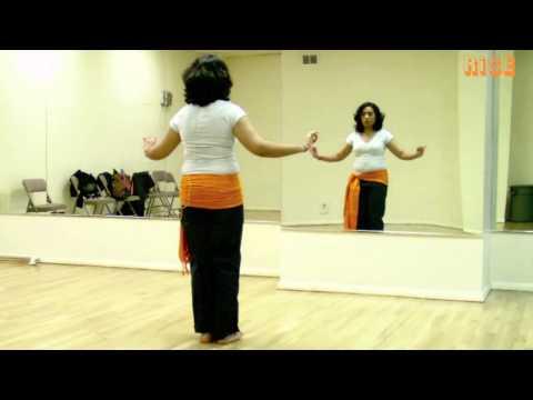 Beginner Belly Dance Moves - Vertical Figure 8