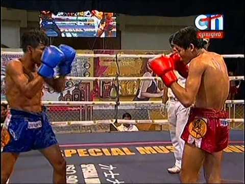 CTN Boxing, Soum Vi Chhay VS Atn Sok Phol, 24-Aug-2014, Round 04