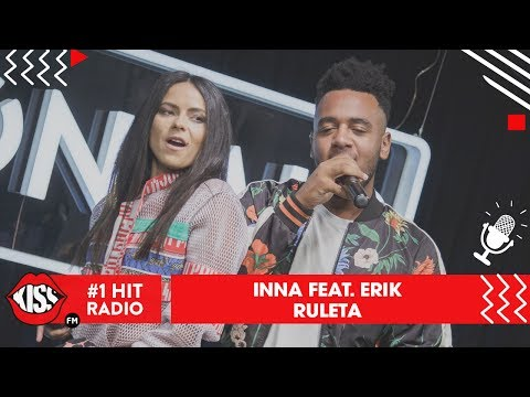 INNA - Ruleta feat. Erik (Live @ Kiss FM)