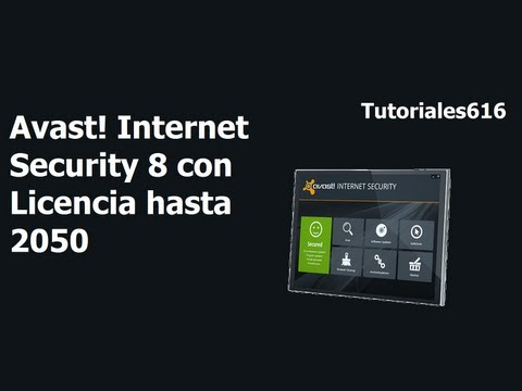 Avast! Internet Security 8 con licencia hasta el 2050 29 de Agosto 2013