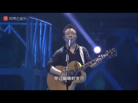Chinese music  rock music  Xuwei(许巍)-Blue lotus flower (蓝莲花) Live