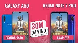 [30M Gaming #32] Redmi Note 7 Pro vs. Galaxy A50: Kèo có DỄ cho Samsung?!