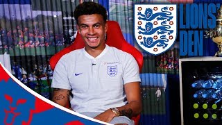 LIVE From Inside the England Camp with Dele | Lions' Den Episode Three | World Cup 2018