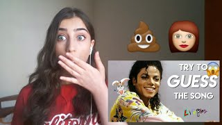 Guess The MICHAEL JACKSON SONG From Emojis Challenge - Lucy Universe