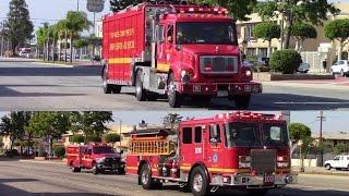 LACoFD USAR, RT, & Engine 103 Responding