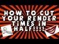 How to cut your render times in half GPU rendering (Sony Vegas)