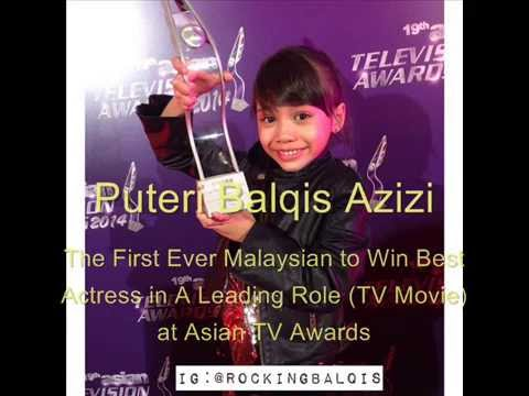 Puteri Balqis Azizi Best Actress winning speech - 19th Asian Television Awards 2014