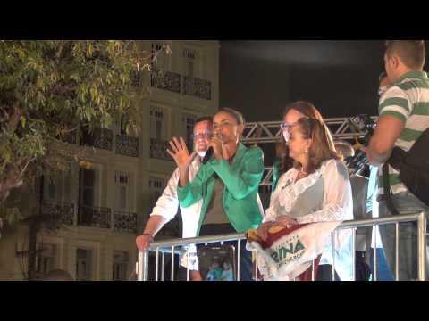 Comício Marina Silva em Fortaleza 12/09/2014