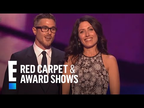 Dave Annable and Lisa Edelstein present at People's Choice Awards 2015