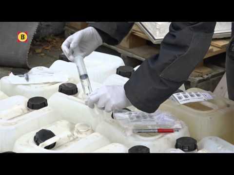 Honderd jerrycans met xtc-chemicaliën gevonden in Breugel